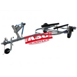 Remorque barque ASC - BA0821F - longueur 6,3m - PTAC 1060 kg