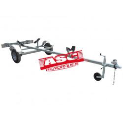 Remorque barque ASC - BA0181 - longueur 4,20m - PTAC 260 kg