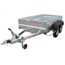 Remorque utilitaire UTI1502F - caisse de 2,5X1,25m - PTAC 2080kg