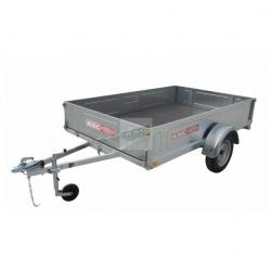 Remorque bagagère BAG0301 - caisse de 2,5x1,61m - PTAC 500kg