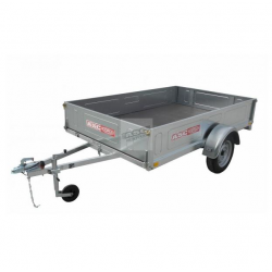 Remorque bagagère BAG0301 caisse de 2,5x1,61m PTAC 500kg