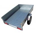Remorque bagagère BAG0361 - caisse de 2,0x1,20m - PTAC 500kg