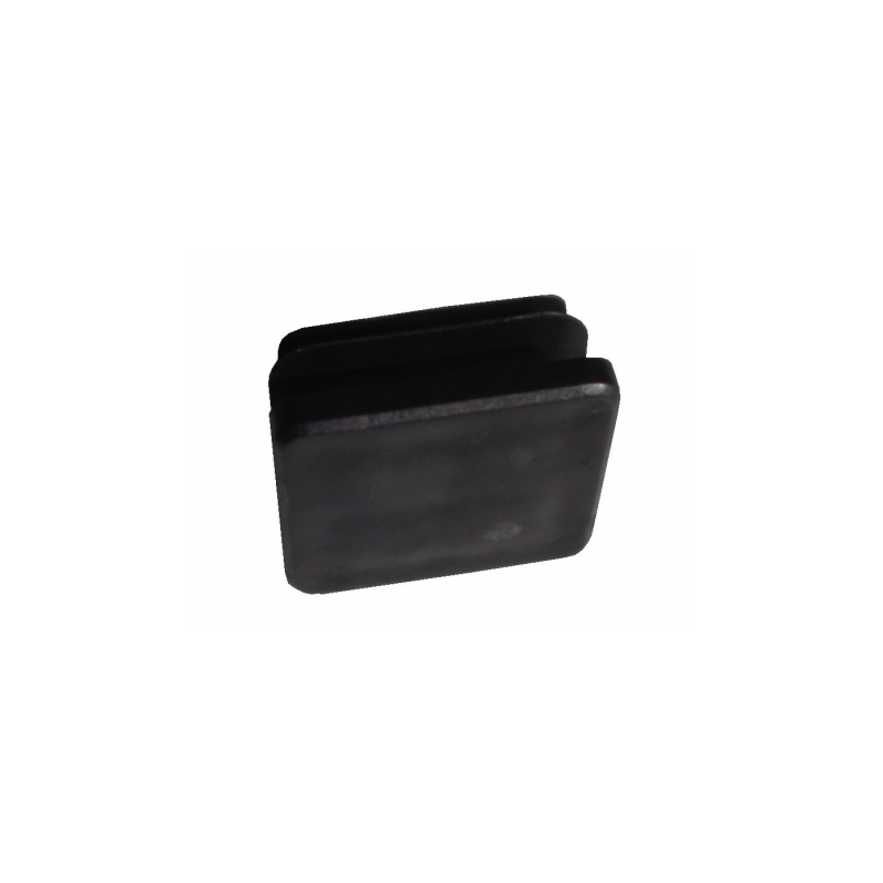 embout plastique pour tube en 60x60 mm. Black Bedroom Furniture Sets. Home Design Ideas