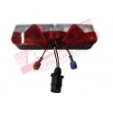 Kit éclairage 6 fonctions avec faisceau 4,5 m + veilleuses