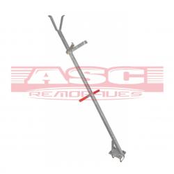 Potence porte mât en tube 30x30 mm pour timon en 60 mm