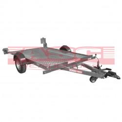 Remorque ASC PL0891F plateau de 3,30x1,85m PTAC 1250kg